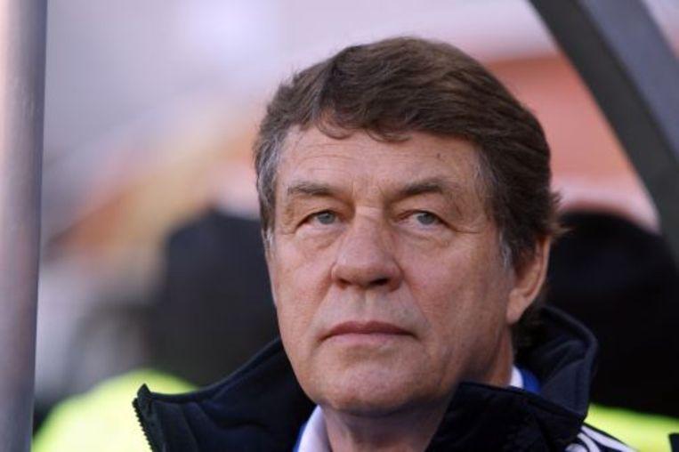 De Duitse bondscoach van Griekenland Otto Rehhagel. ANP Beeld