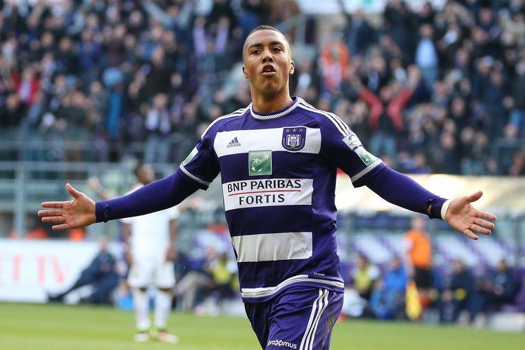 Youri Tielemans scoorde het enige doelpunt voor Anderlecht. Beeld belga