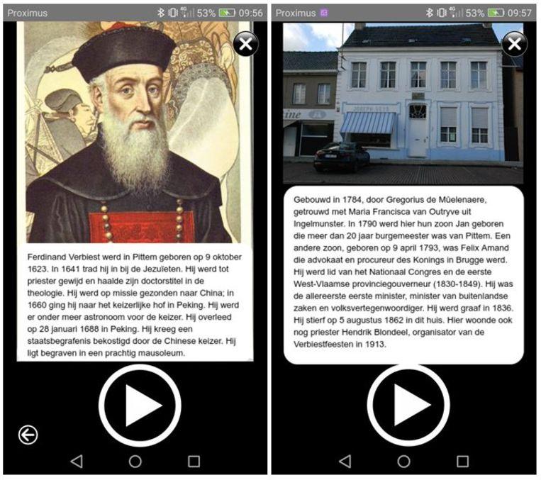Twee voorbeeldjes uit de nieuwe erfgoedwandeling 'Astronoom van de keizer: Ferdinand Verbiest uit Pittem'