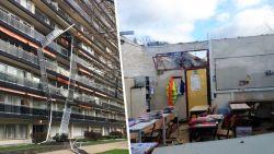 LIVE: Storm houdt lelijk huis: dode in Waals-Brabant, dak van school vliegt weg, zwaargewonde in Antwerpen, voetbalkantine weggewaaid