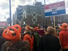 'Down with the crown'; niet iedereen in Tilburg is vandaag Oranjefan