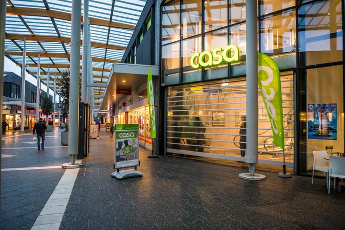 Opnieuw overval in winkelcentrum Woensel, ditmaal in feelgoodwinkel Casa.