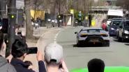 VIDEO. Bestuurder van Lamborghini trekt razendsnel op, maar verliest controle en crasht