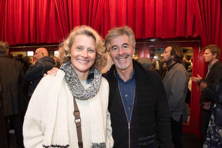 Marc Coessens met zijn vrouw Christel Domen.