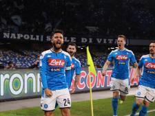 Napoli knikkert titelverdediger Lazio uit Coppa Italia