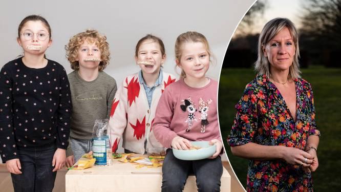 """Welke kinderkoek is de gezondste en de lekkerste? Voedingsexpert én kinderen testen er 5: """"Een koek met haver is niet per se gezonder dan een chocoladekoek"""""""