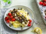 Wat Eten We Vandaag: Witvispakketjes met tomaten