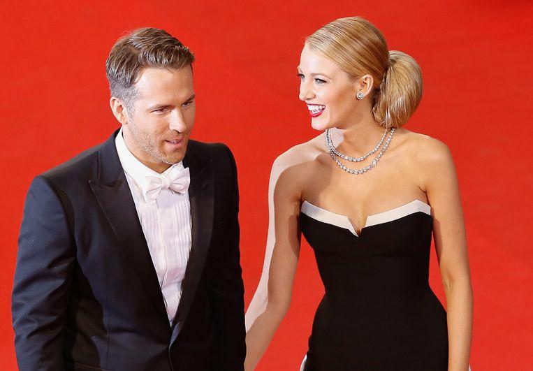 Blake Lively is de partner van Ryan Reynolds.