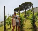 Visite de Ramello et Amalfi pour Mignolet et sa compagne.