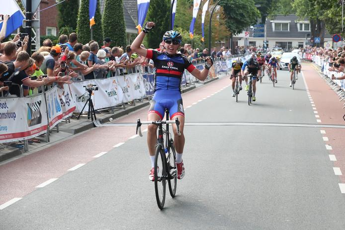 Jelle Bootsveld van VolkerWessels-Merckx Cycling Team won vorig jaar afgetekend de Ronde van Twente.