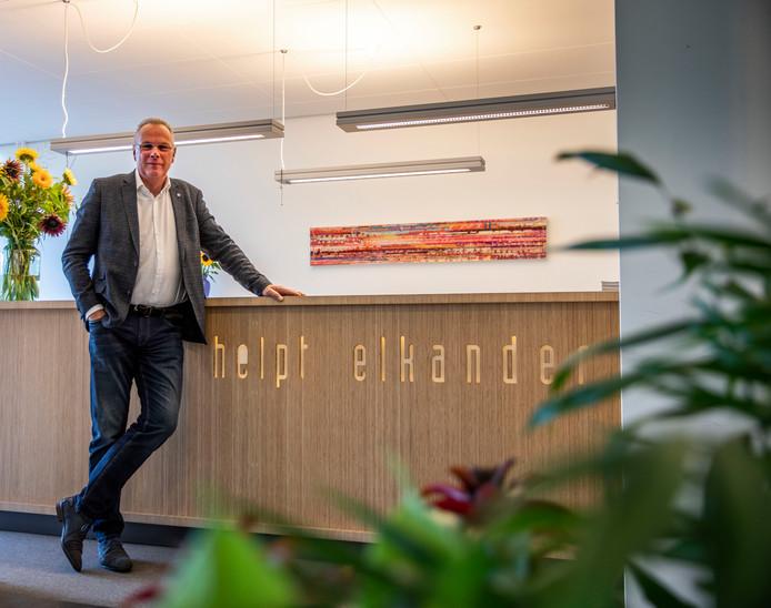 Bas Maassen, directeur van woningcorporatie Helpt Elkander.