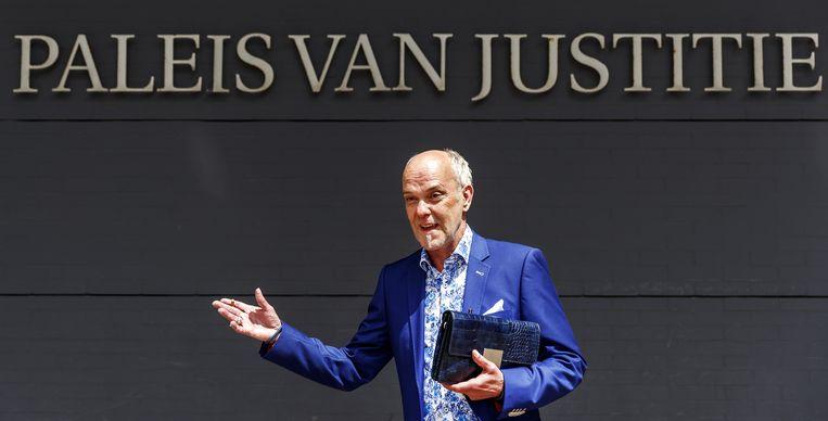 Martien Hunnik na afloop van de uitspraak. Beeld ANP