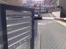 Gratis parkeren bij Forvm in decemberweekeinden