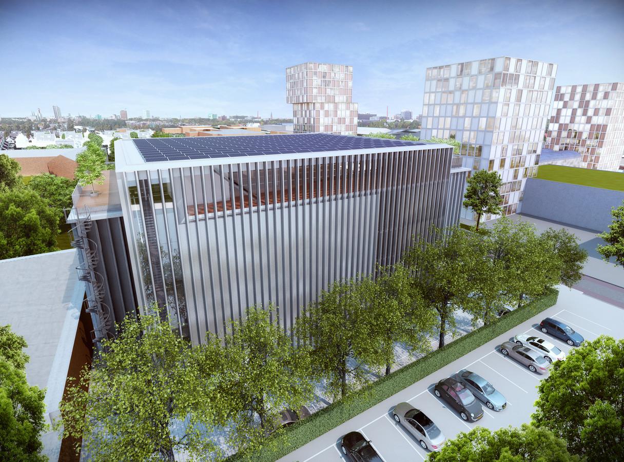 Het ontwerp voor het Koelhuis is van Ector Hoogstad Architecten, het bureau dat ook tekende voor onder meer Differ en Metaforum op de TU/e Campus en de nieuwbouw voor Fontys ICT.