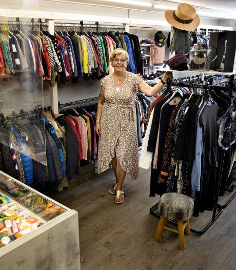 Marion Leenders uit Bakel heeft al dertig jaar oog voor tweedehands kleren