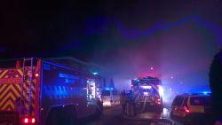 Uitslaande woningbrand langs Bredeweg