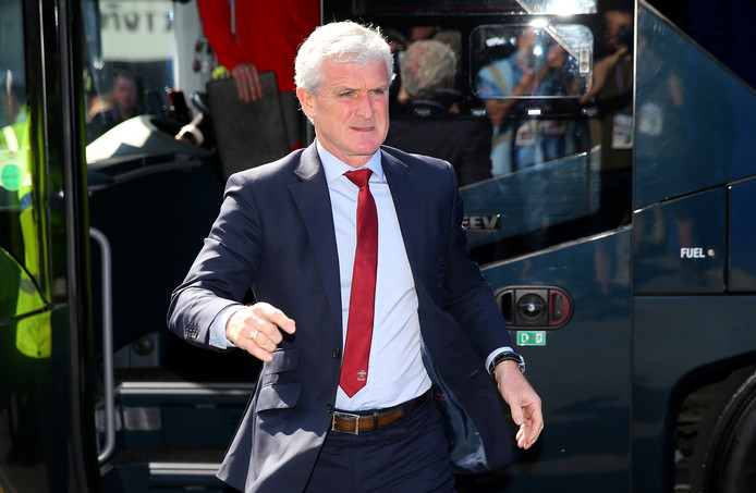 Southampton-manager Mark Hughes.
