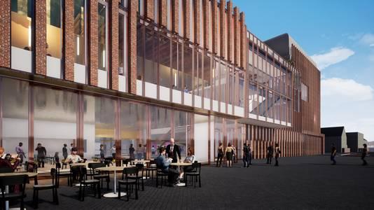 Het nieuwste ontwerp van het Theater aan de Parade in Den Bosch, zoals op 27 mei is gepresenteerd.