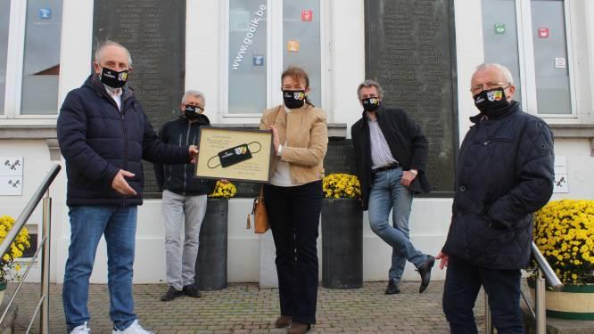 Gooik en het Duitse Altenberge vieren 40 jaar verbroedering met bijzondere mondmaskers