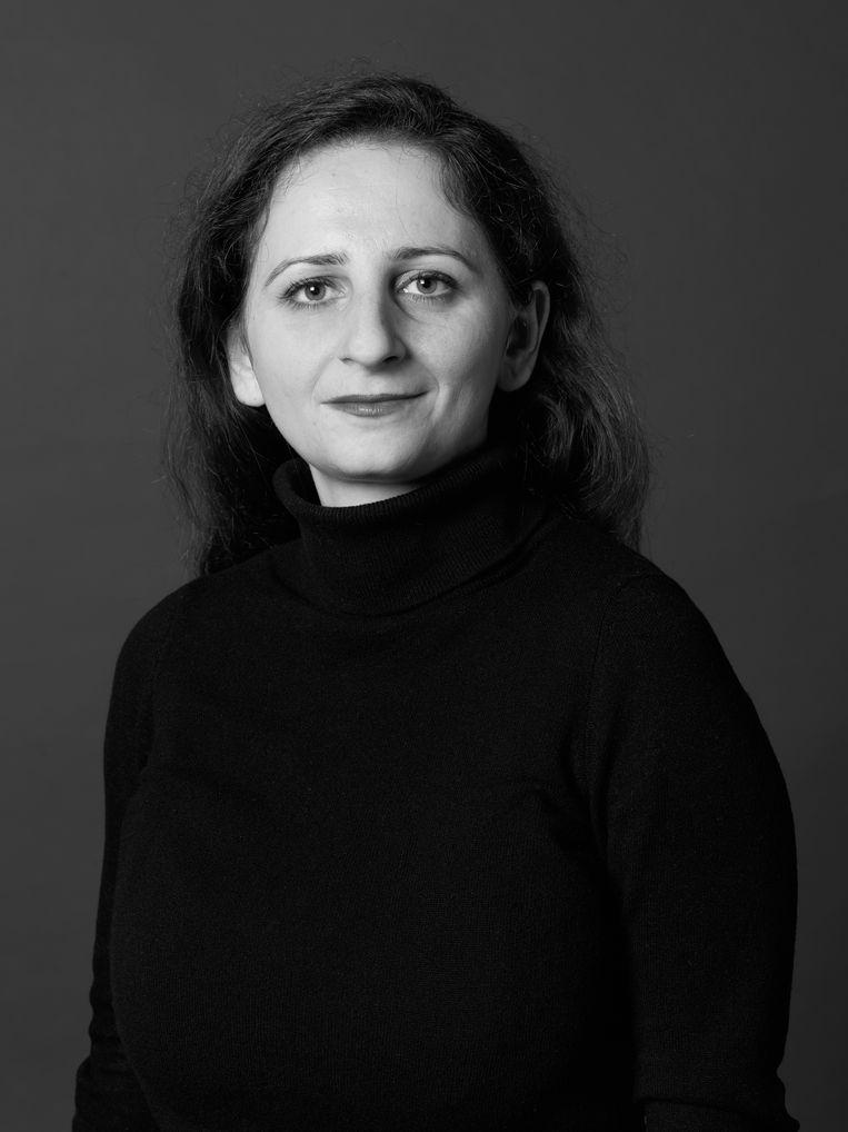 Hala Naoum Nehmé, raadslid voor de VVD in Amsterdam  Beeld Annaleen Louwes