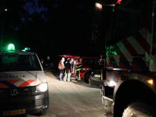 Brandweer uren bezig met blussen grote bosbrand tussen Kaatsheuvel en Udenhout