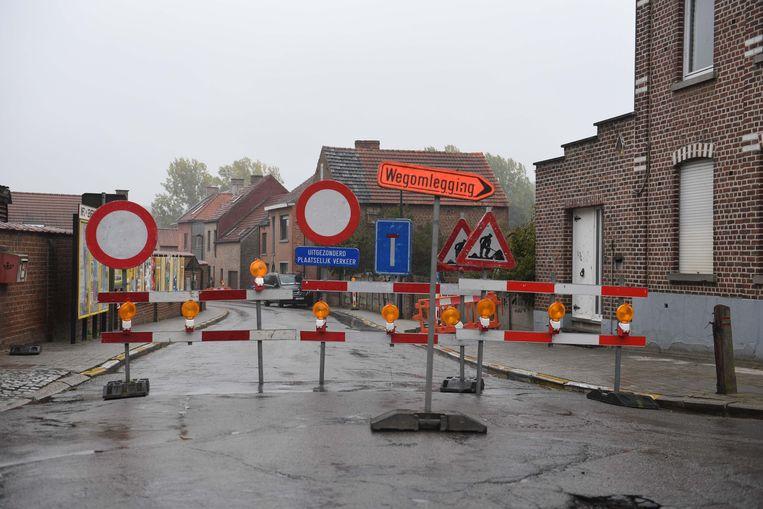 Werken aan de Stationstraat in Korbeek-Dijle zijn gestart.