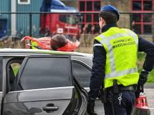 Man aangehouden tijdens grenscontrole bij Hazeldonk, omgeving korte tijd ontruimd
