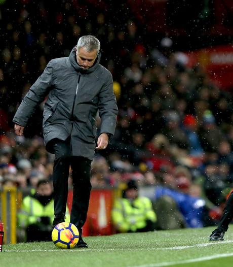 Mourinho krijgt ervan langs bij opstootje in kleedkamer City