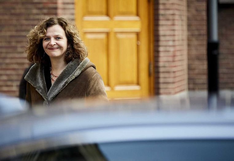 Edith Schippers, minister van Volksgezondheid. Beeld anp