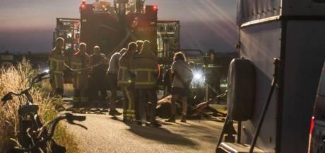 Vrouw gewond na val van steigerend paard in Hierden