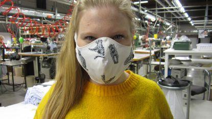 IN BEELD. Van mondmaskers stikken tot lege treinen: zo ziet Vlaanderen er uit op eerste 'coronawerkdag'