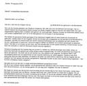 Het bruidspaar in kwestie schreef deze brief aan de gemeenteraad van Zwolle.