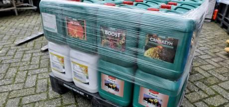 Tuincentrum in Tilburg blijkt growshop: politie doet meerdere invallen in en rond de stad