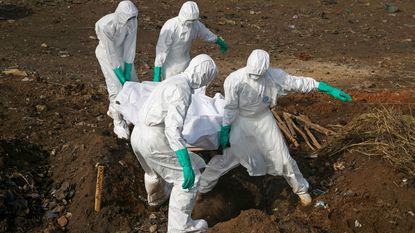 Broer en zus stierven er al aan en gevreesd wordt dat ook honderden anderen besmet zijn met aan ebola verwante ziekte