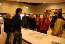 Commotie alom tijdens de inloopbijeenkomst, donderdagavond in het Grand Café van de Avans Hogeschool aan de Onderwijsboulevard