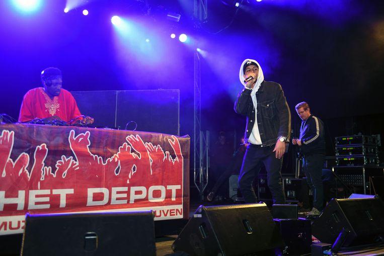 Studentenwelkom in Leuven met optreden van DJ Masai.