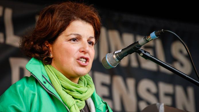 La secrétaire générale de la CSC Marie-Hélène Ska.