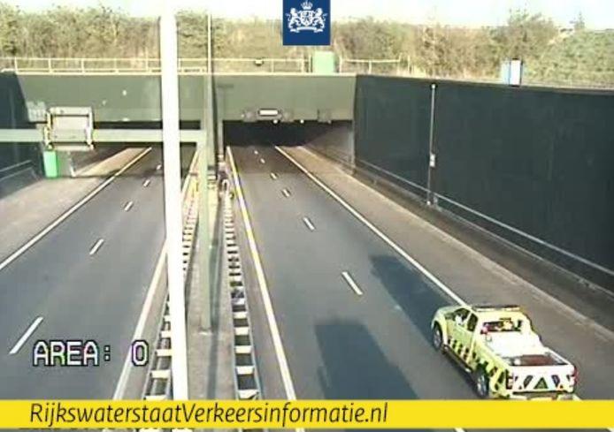 Vlaketunnel dicht door storing