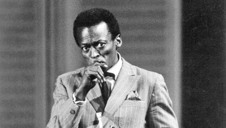 Miles Davis rond 1970. Beeld Getty Images