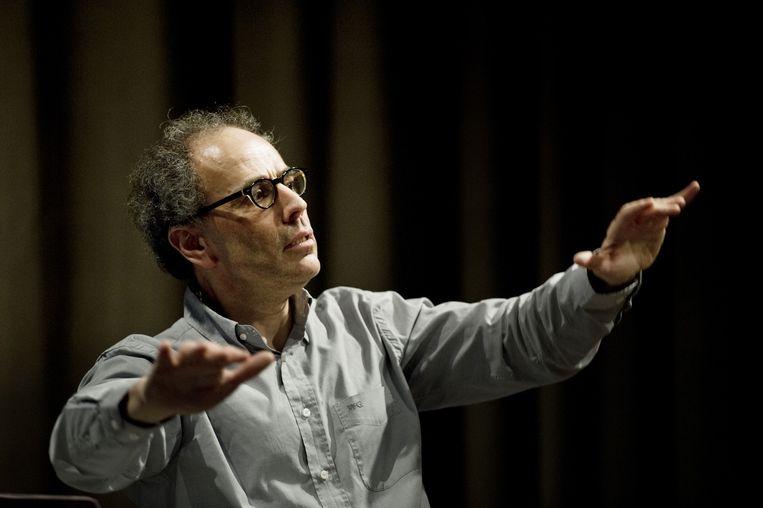 Ed Spanjaard, hier in actie in Utrecht, 2012. Beeld anp