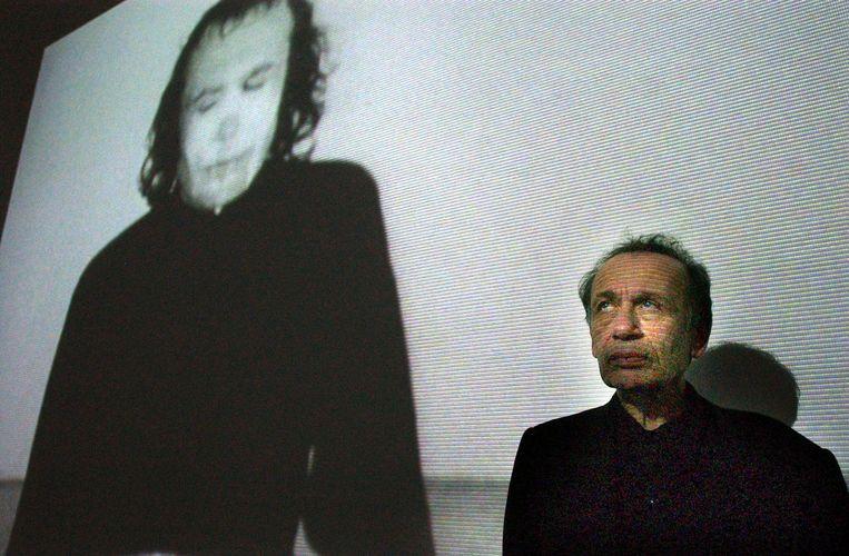 Vito Acconci in 2004. Beeld epa