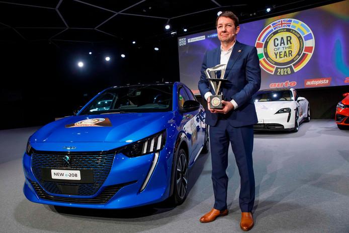 "Frank Janssen,  Président du ""Car of the Year""."