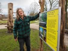 Vordenaar Brasser eert schilder Bilders met kunstwerk: 'Het moet ook ontmoetingsplek worden voor jong en oud'