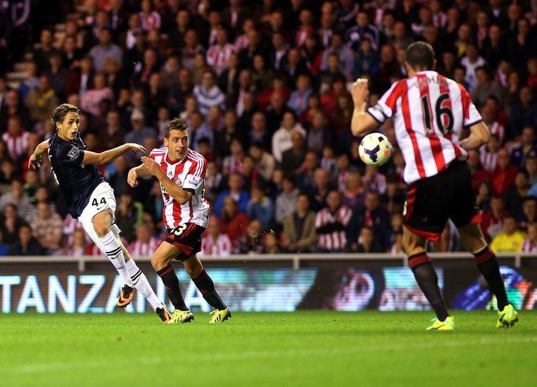 Zijn eerste goal voor Manchester United in het 'Stadium of Light' van Sunderland tijdens een 1-2-zege in het najaar van 2013.