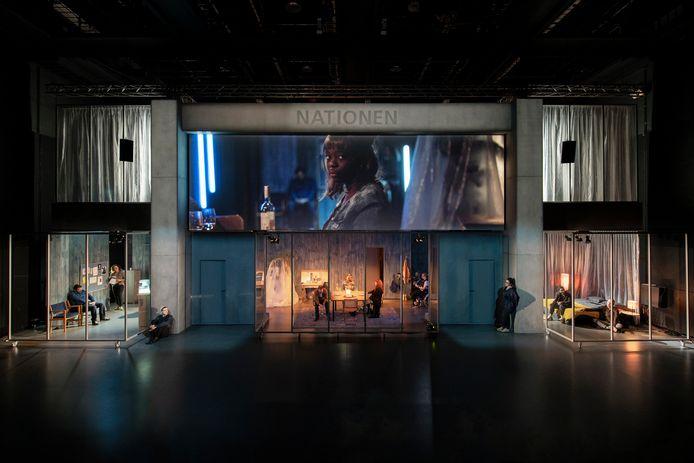 Het toneelstuk The Nation is als Nationen in een Zweedse versie te zien in Göteborg.