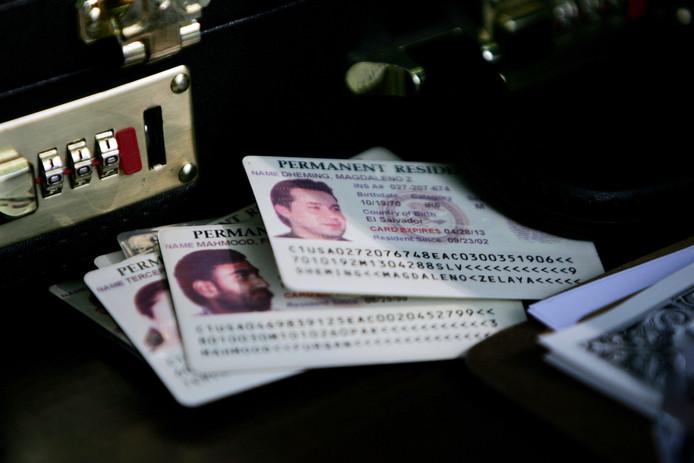 De permanente verblijfsvergunning oftewel de green card in de Verenigde Staten.