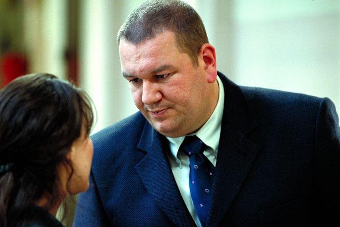 Wim Opbrouck kroop in de huid van de onderzoeksrechter in Stille Waters, in 2002.