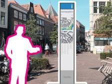 Nieuwe informatiezuilen in centrum Zwolle