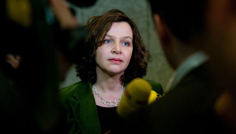 Minister Edith Schippers (Volksgezondheid). © ANP Beeld