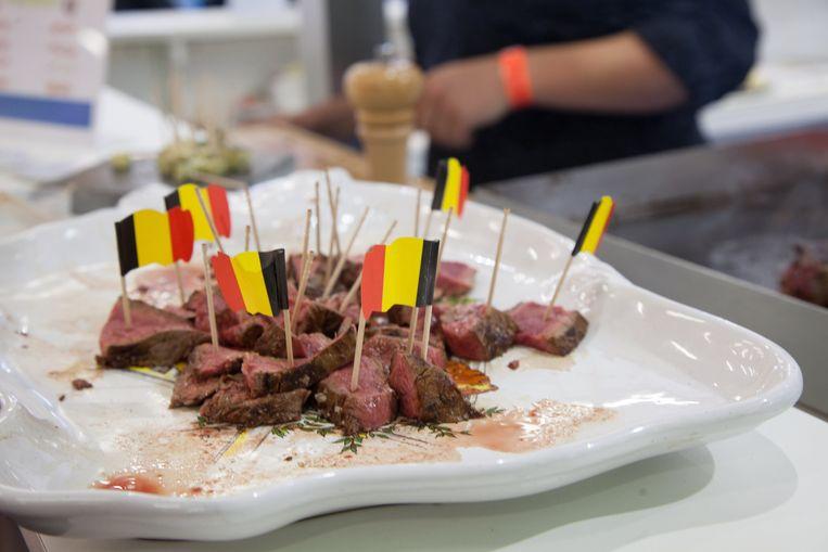 """""""Door een verminderde vleesconsumptie zit de vleesveesector al verscheidene jaren in een diepe crisis"""", zegt Vanessa Saenen van de Belgische Boerenbond."""